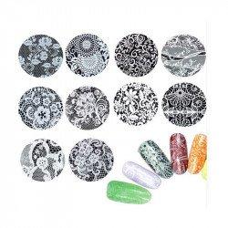 Dentelles décoratives pour ongles