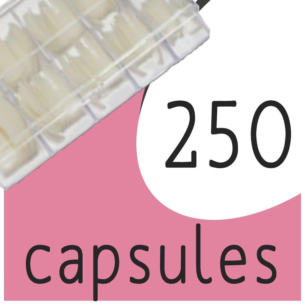 Boîte de 250 capsules (T1 à T10)