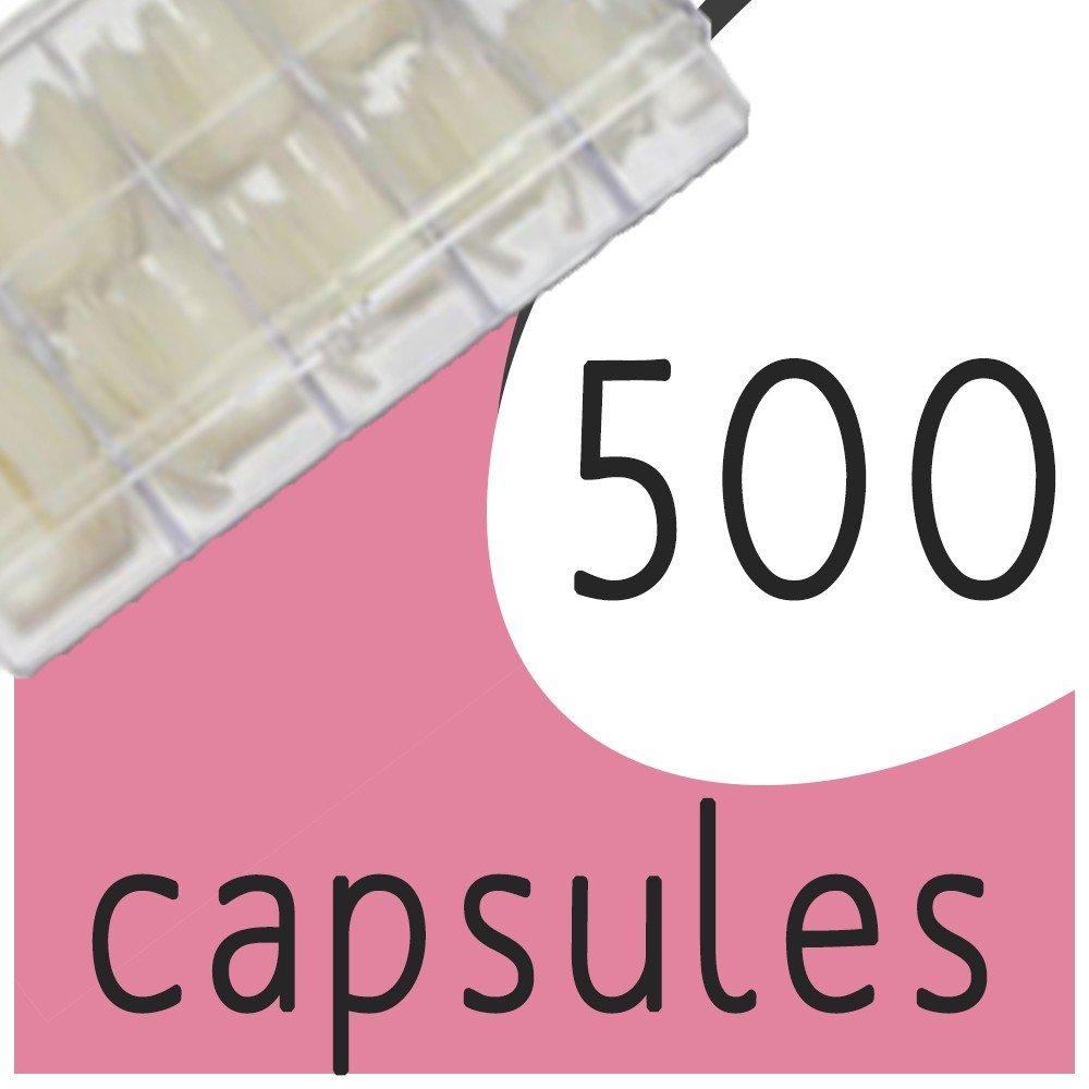 Boîte de 500 capsules (T1 à T10)