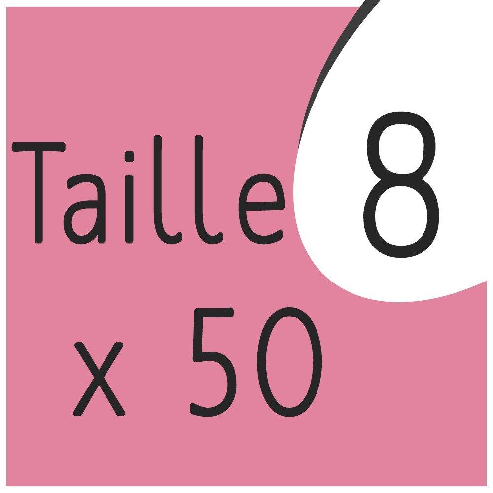 Taille 8 x 50 capsules